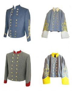 Confederate Generals Double Breasted Shell Jacket